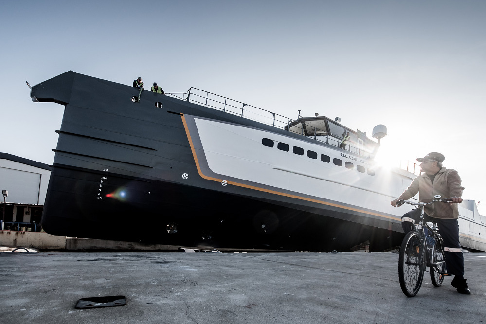 Image for article Damen launches 55m 'Blue Ocean'
