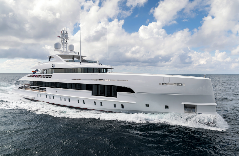 Image for article Heesen sells second hybrid superyacht