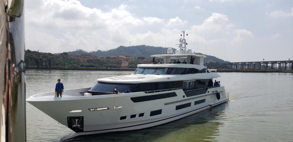 Image for article Heysea launches second superyacht of 2020