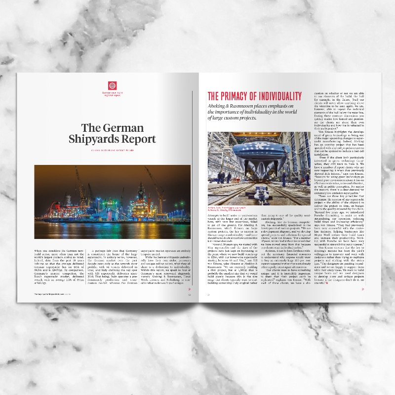 Image for article The Superyacht Shipyards Report: out now