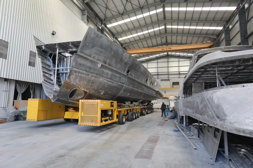 Image for article Alia Yachts progresses towards 2021 record