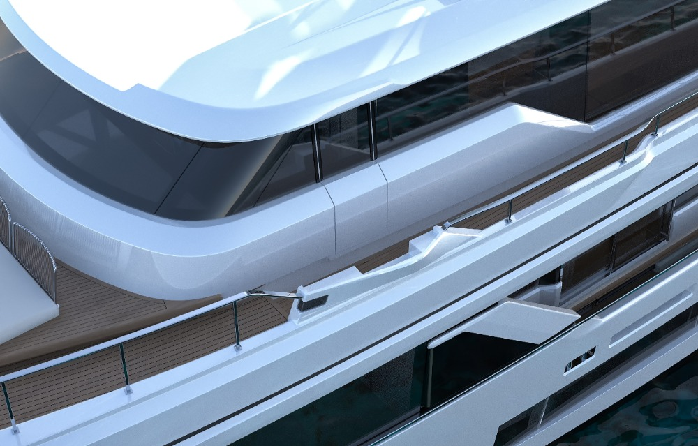 Image for article Ferretti Group unveils Navetta 30