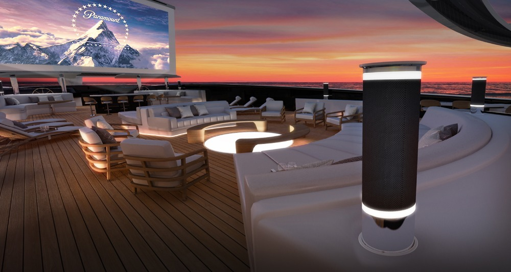 Image for article Yacht Intelligence's open-air cinema concept