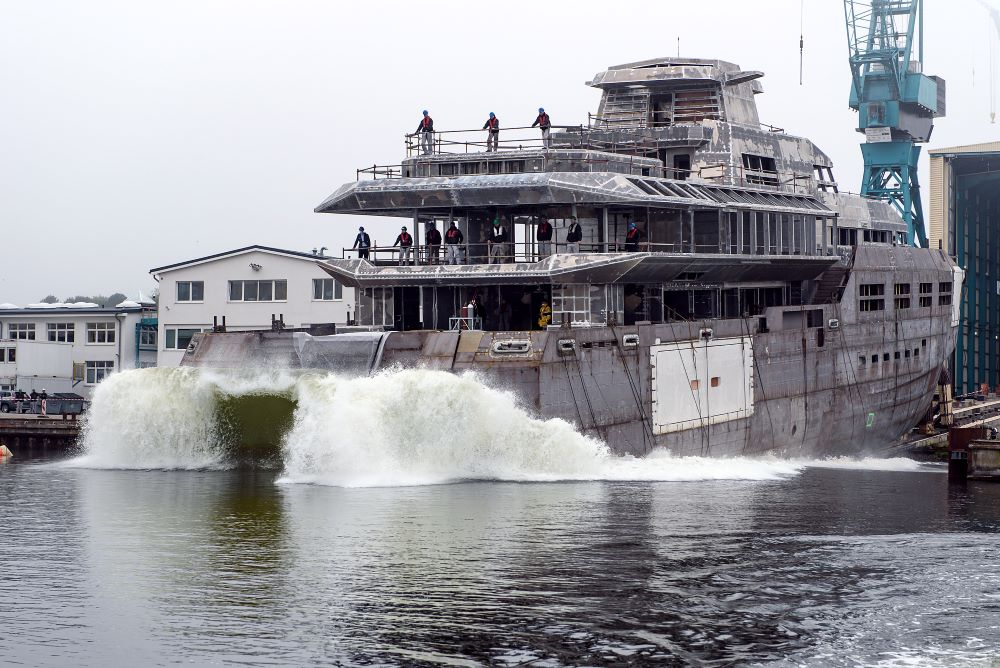 Image for article Lurssen launches project 1601