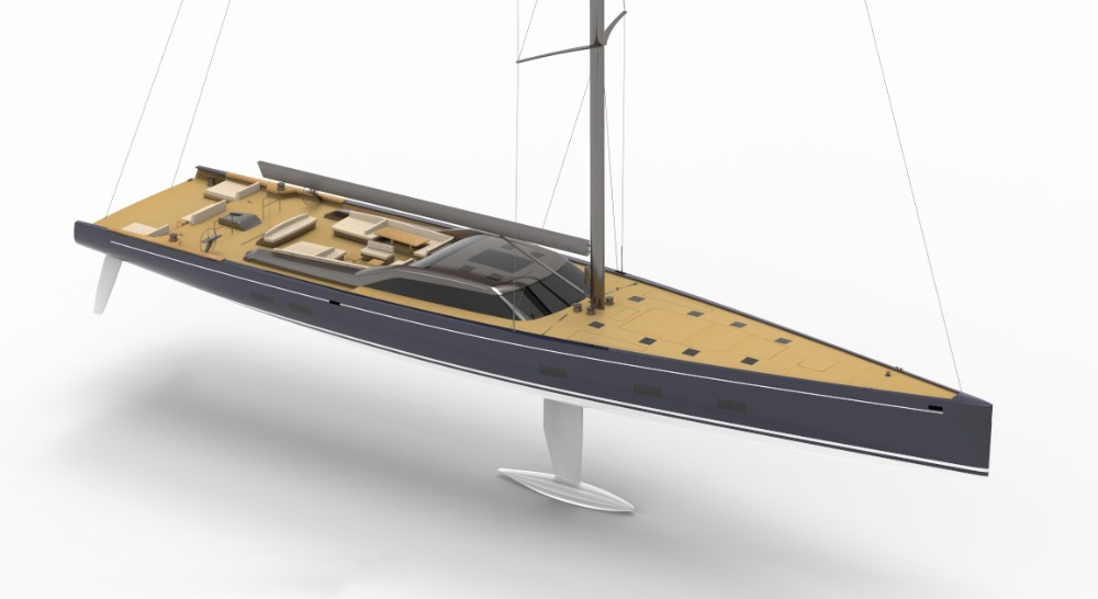 Image for article Royal Huisman announces 46m sailing yacht order