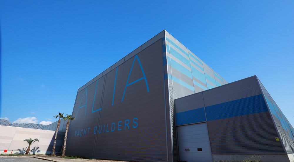 Image for article Shipyard status update: Alia Yachts