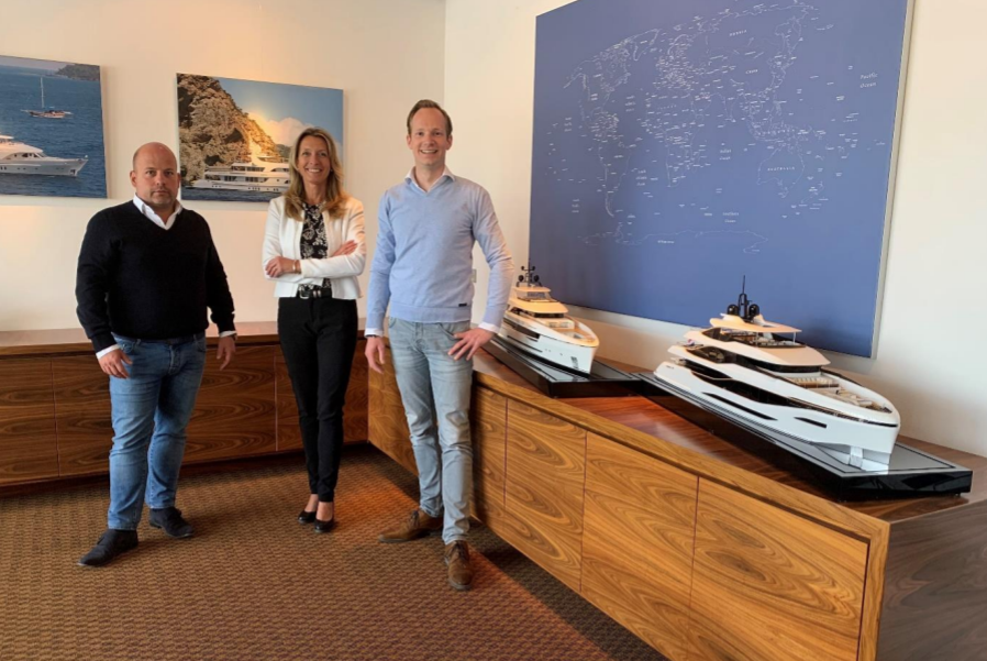 Image for article Moonen Yachts announces new management team