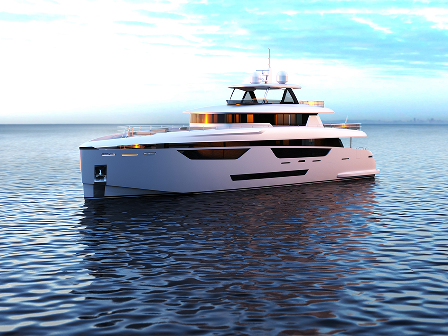 Image for article Johnson Yachts develops virtual tours for new flagship superyacht