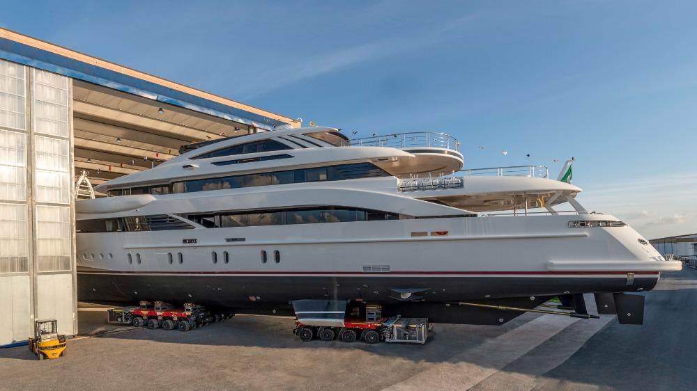 Image for article Rossinavi launches 52m M/Y 'Florentia'