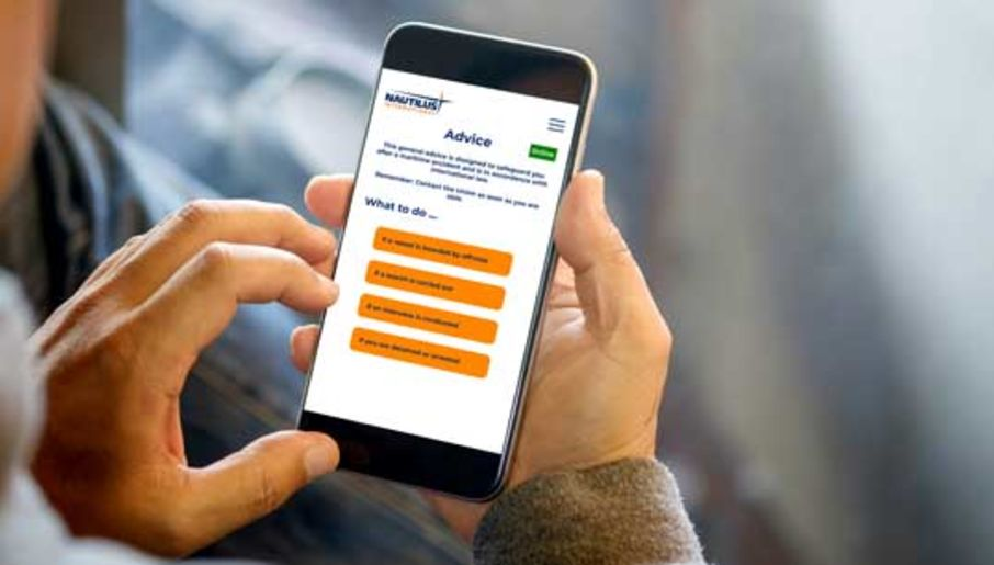 Image for article Nautilus launches app to support fair treatment of seafarers