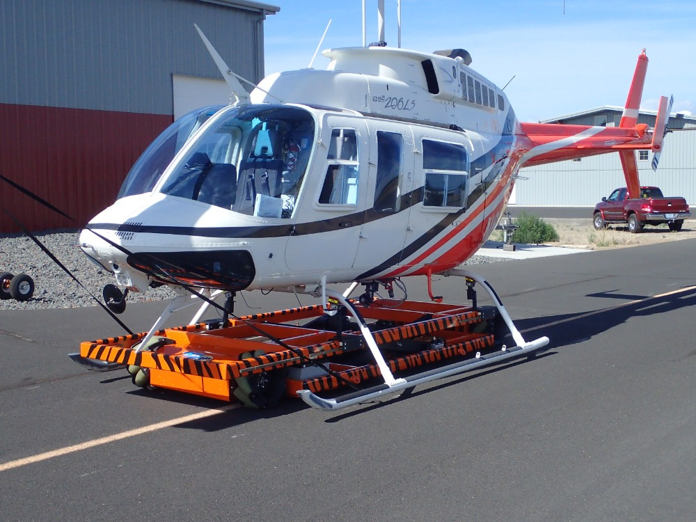 Image for article Increased possibilities for helicopter storage on board superyachts