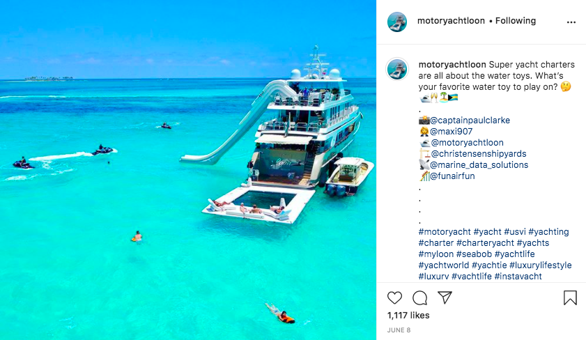 Image for article The superyacht Instagram generation