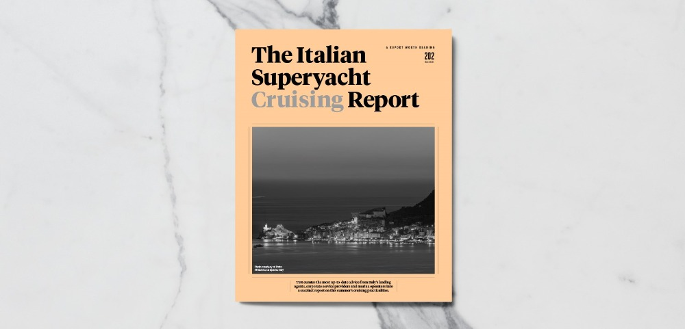 Image for article The Italian Superyacht Cruising Report