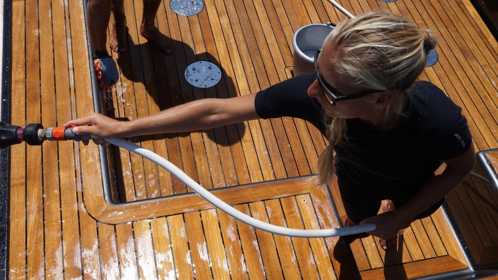 Image for article Cleaning products affect crew, not just the planet