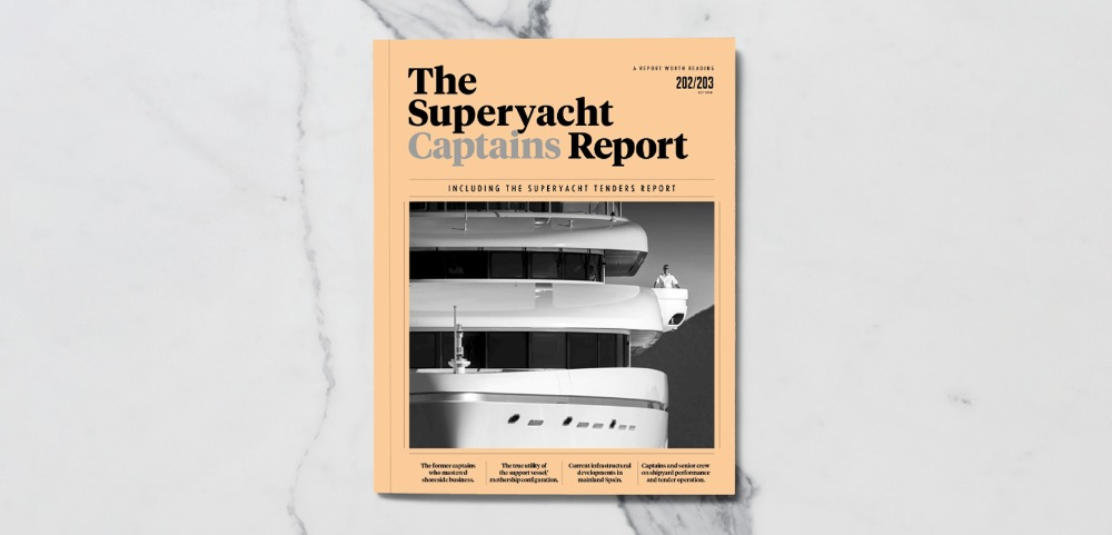 Image for article Complimentary access to The Superyacht Captains Report – out now