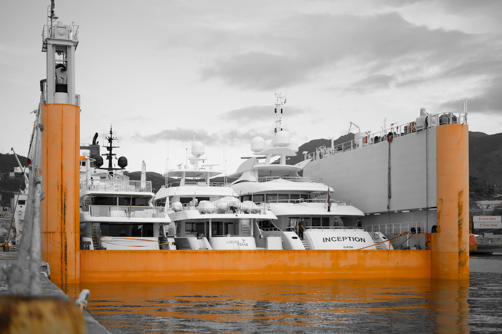 Image for article DYT to launch largest semi-submersible yacht transport