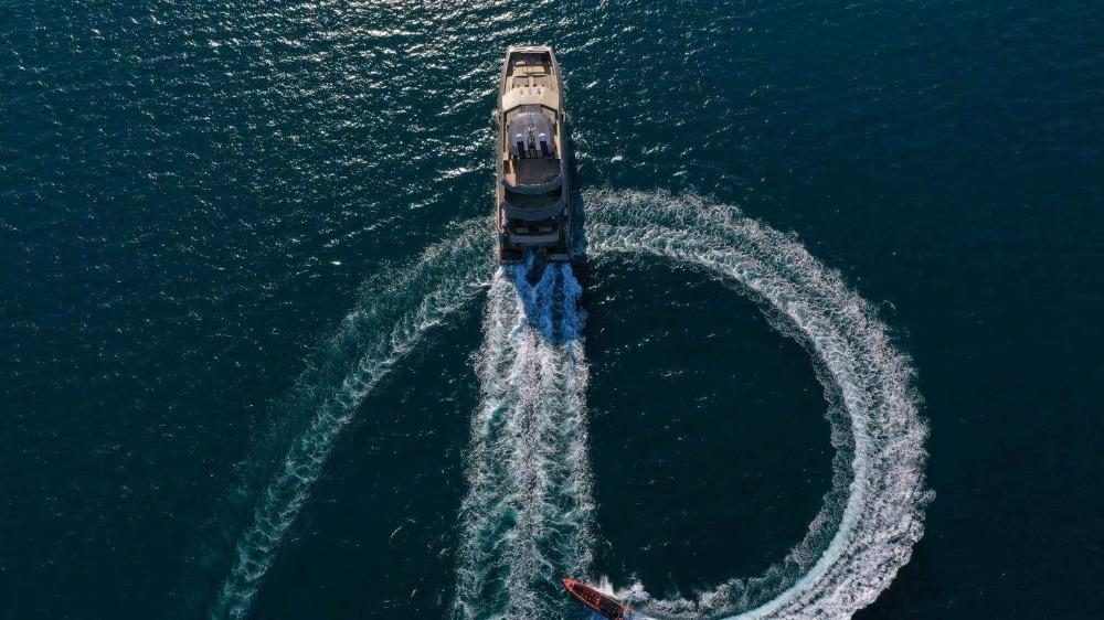 Image for article Heysea delivers 43m catamaran