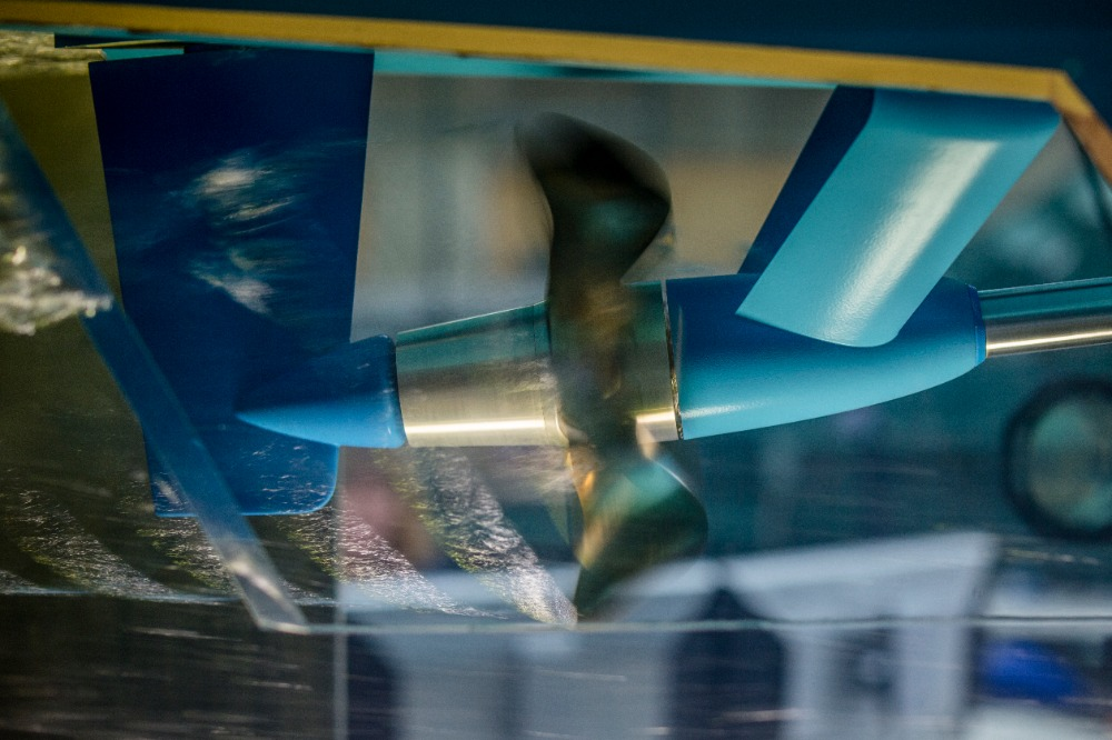 Image for article Project 'Cosmos': innovation in propeller and rudder design