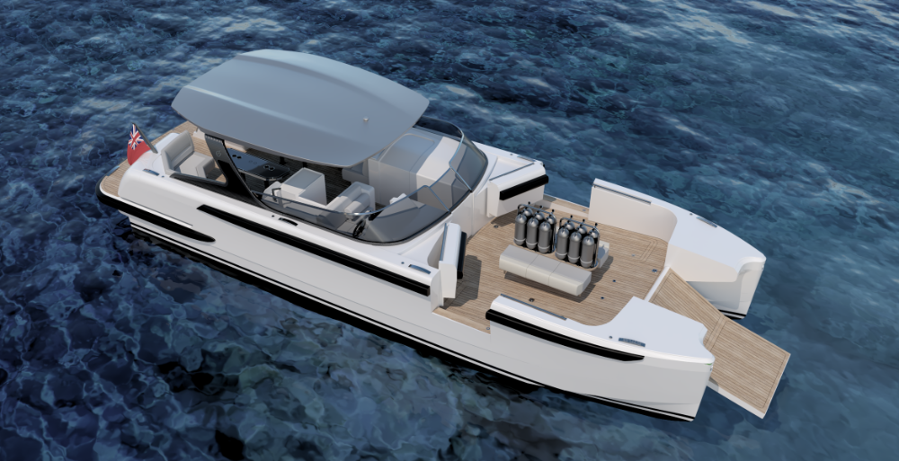 Image for article Catamaran tenders: are two hulls better than one?