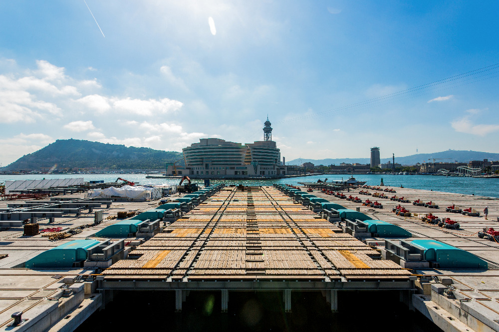 Image for article MB92 Barcelona adjusts to increased workload since launch of 4,800T shiplift