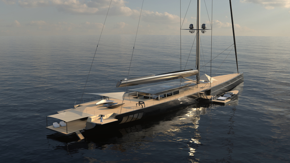 Image for article The world's largest sloop