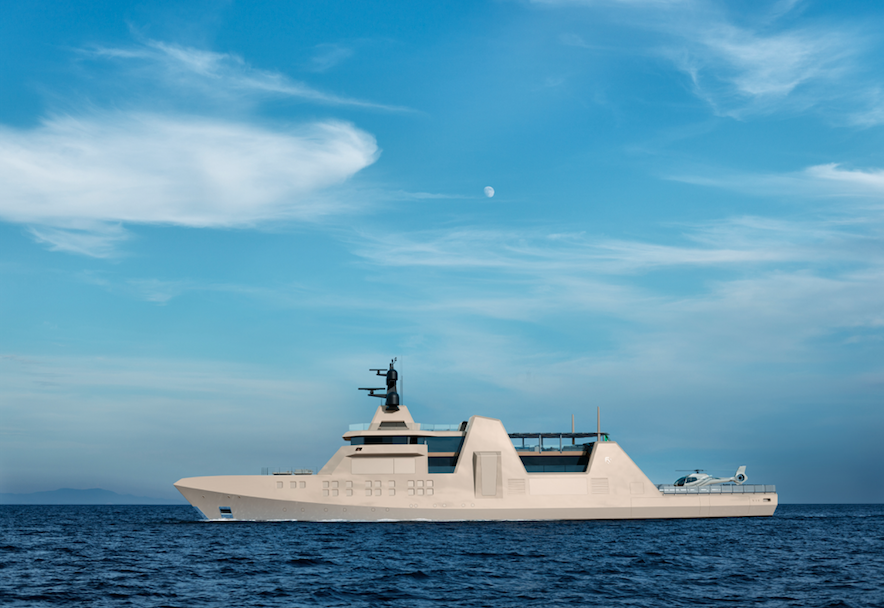 Image for article Combining naval history with modern technology