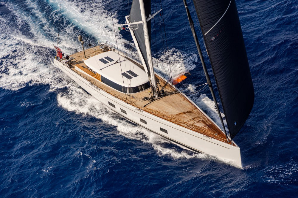 Image for article Foil-assisted cruising by Baltic Yachts