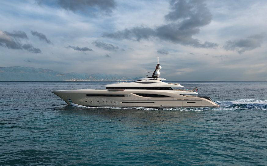 Image for article Fincantieri Yachts' smallest concept to date