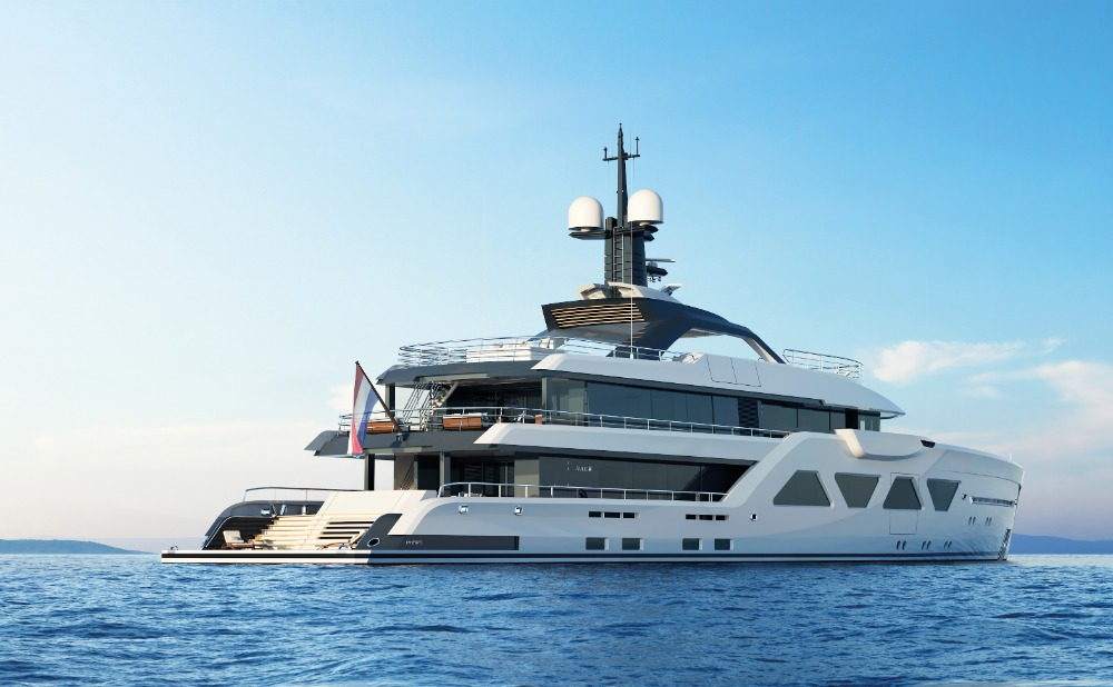Image for article Alewijnse to work on two more AMELS 60 superyachts