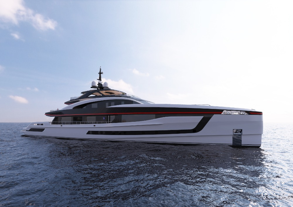 Image for article Heesen begins construction of 59m project SkyFall