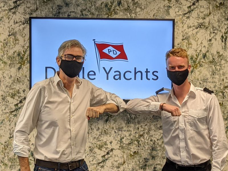 Image for article Döhle Yachts supports aspiring superyacht officers
