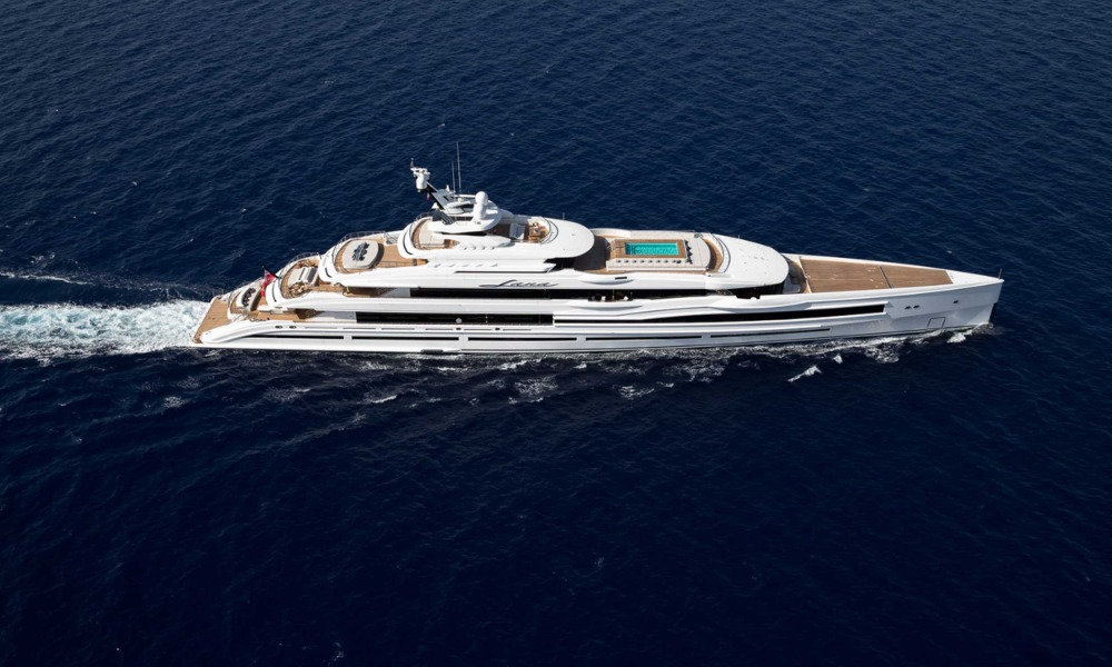 Image for article M/Y Lana available for charter through Imperial Yachts