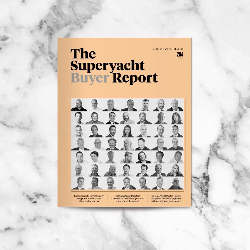 Image for article The Superyacht Buyer Report