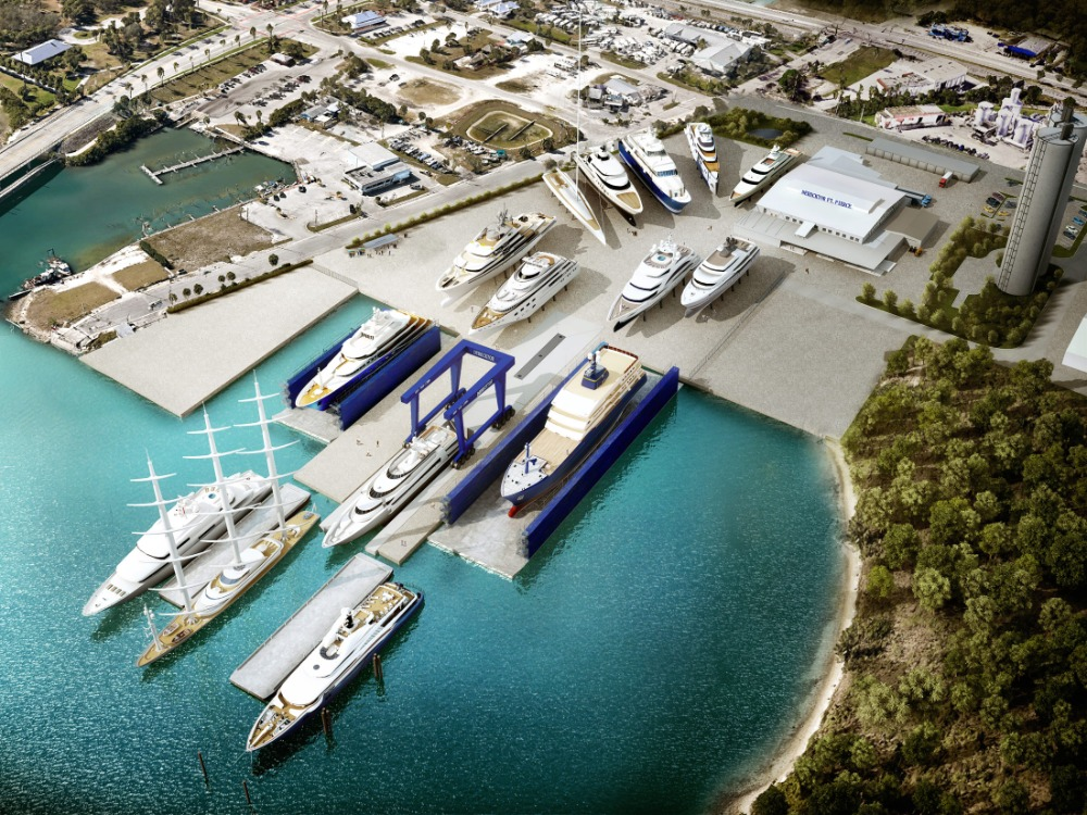 Image for article Plans for Derecktor Fort Pierce refit facility approved