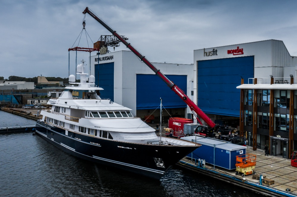 Image for article Huisfit completes refit of M/Y Broadwater