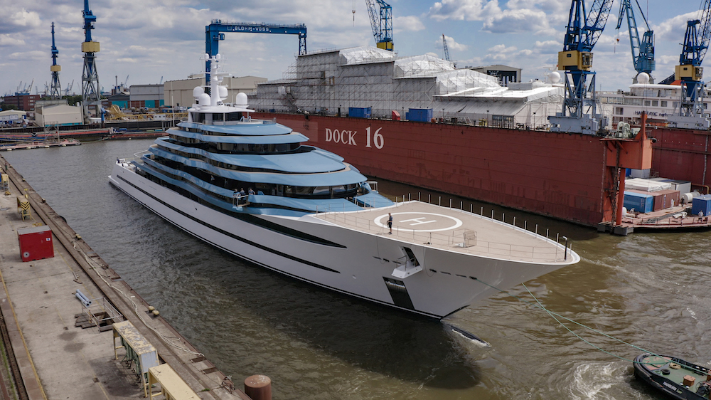 Image for article Lürssen completes refit of Kaos