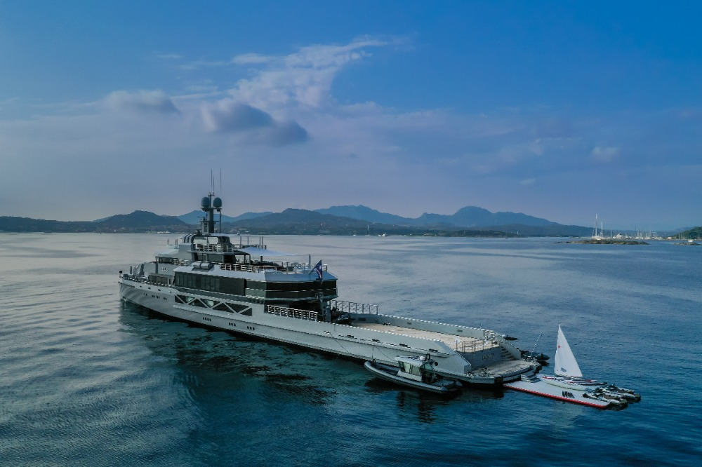Image for article New Year on the ultimate circumnavigation yacht