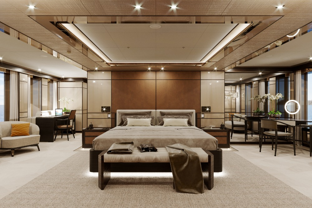 Image for article 55m Project Gemini under construction at Heesen