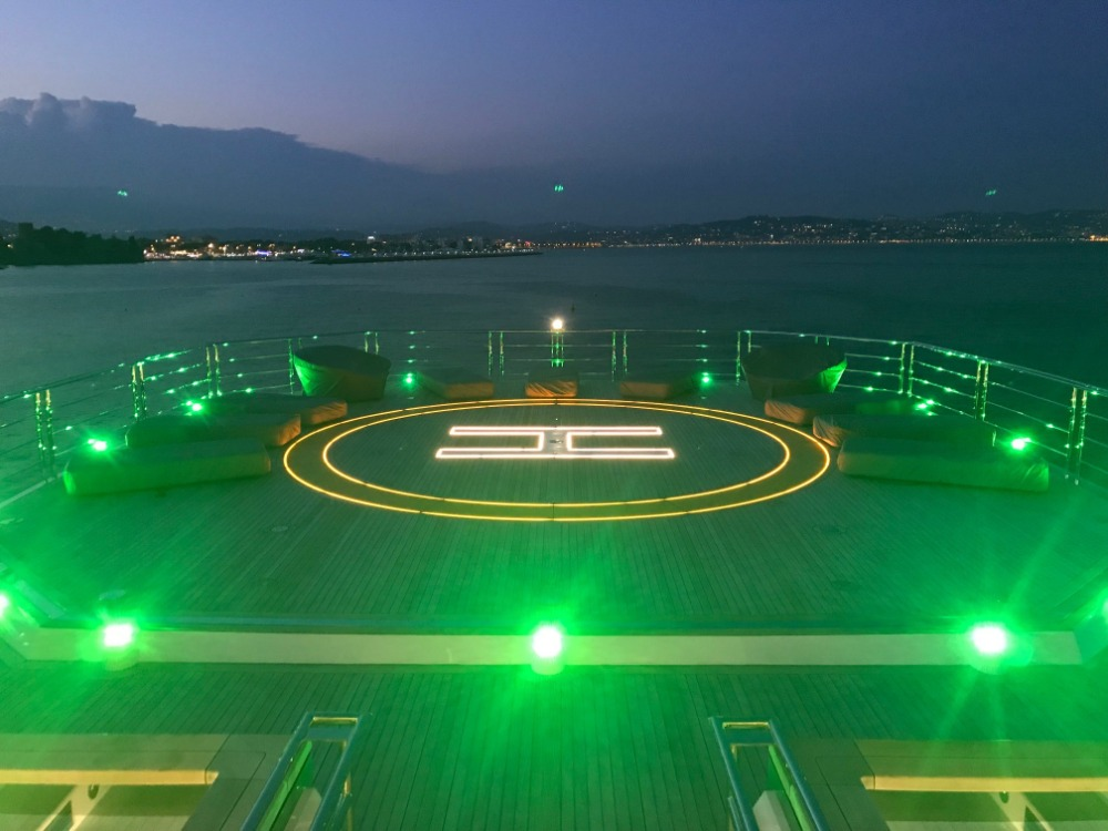Image for article Safe use of helicopters on board superyachts