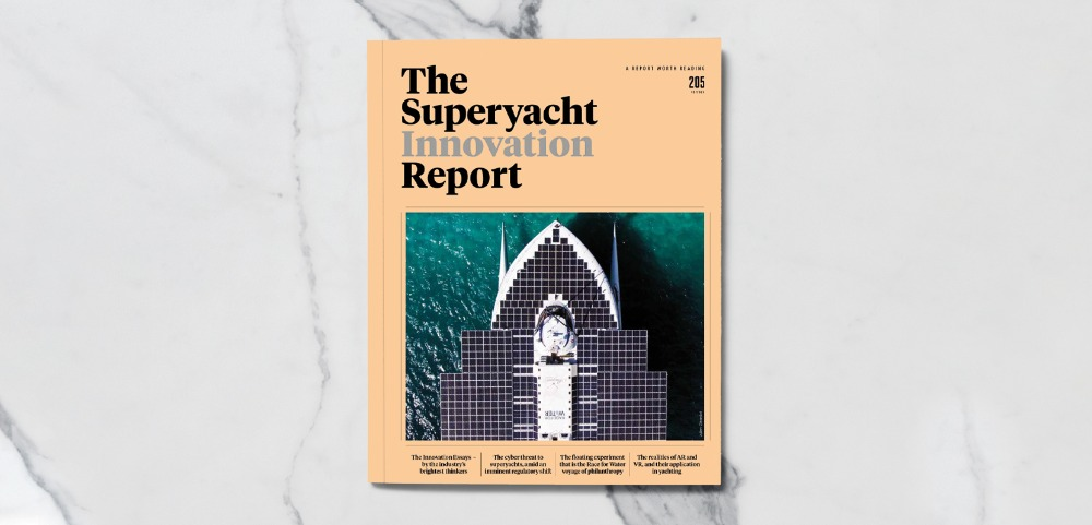 Image for article The Superyacht Innovation Report