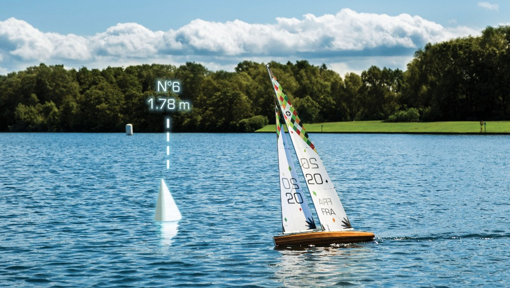 Image for article Model Yachts in Mixed Reality