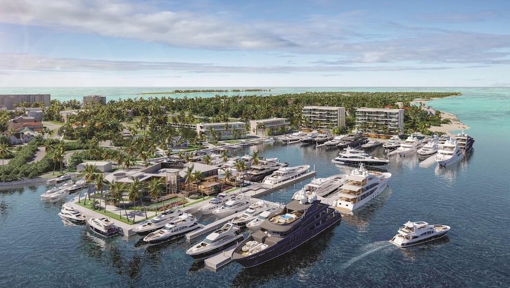 Image for article Hurricane Hole Superyacht Marina begins construction