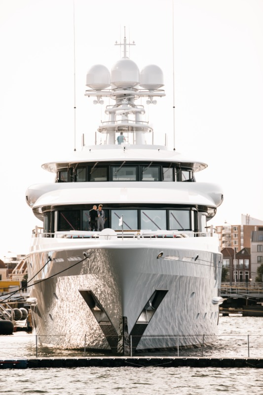 Image for article Amels and Damen Yachting deliver Synthesis