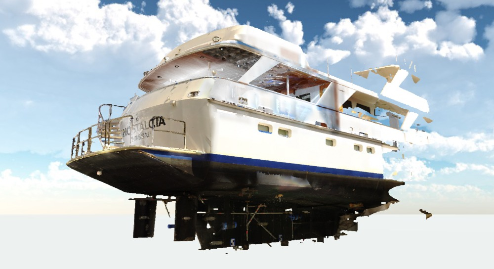 Image for article The value of 3D laser scanning for superyacht refits