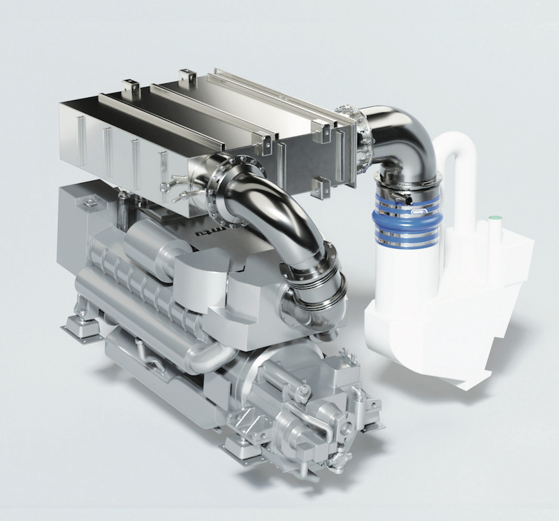 Image for article Compact SCR solutions for fast yacht applications