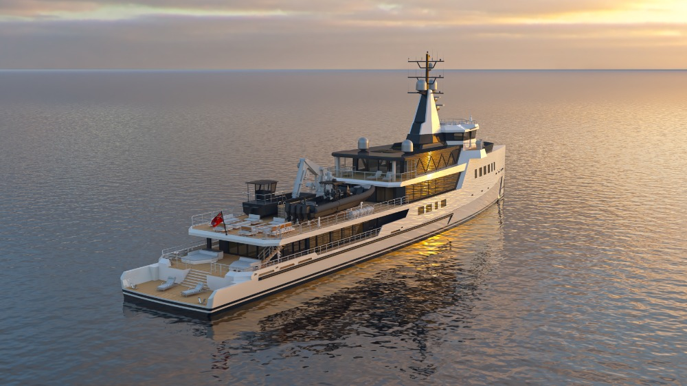 Image for article Damen Yachting sells 72m hybrid expedition yacht