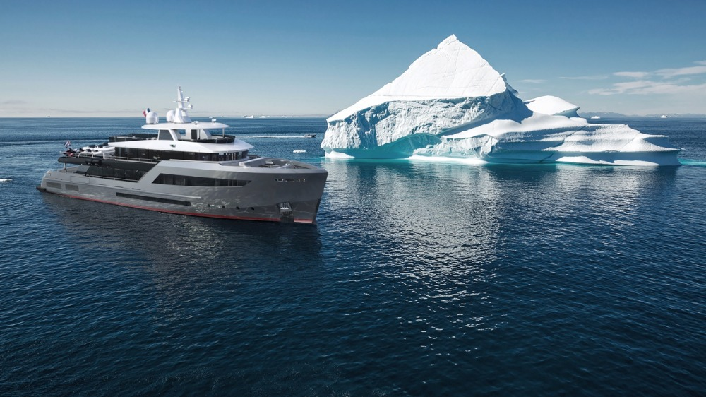 Image for article Bering Yachts announces sale of second B145 explorer yacht