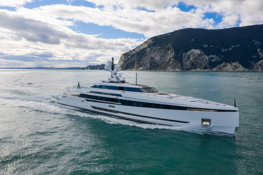 Image for article Columbus Yachts launches 50m K2