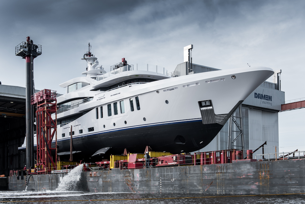 Image for article Damen Yachting announces first launch of 2021