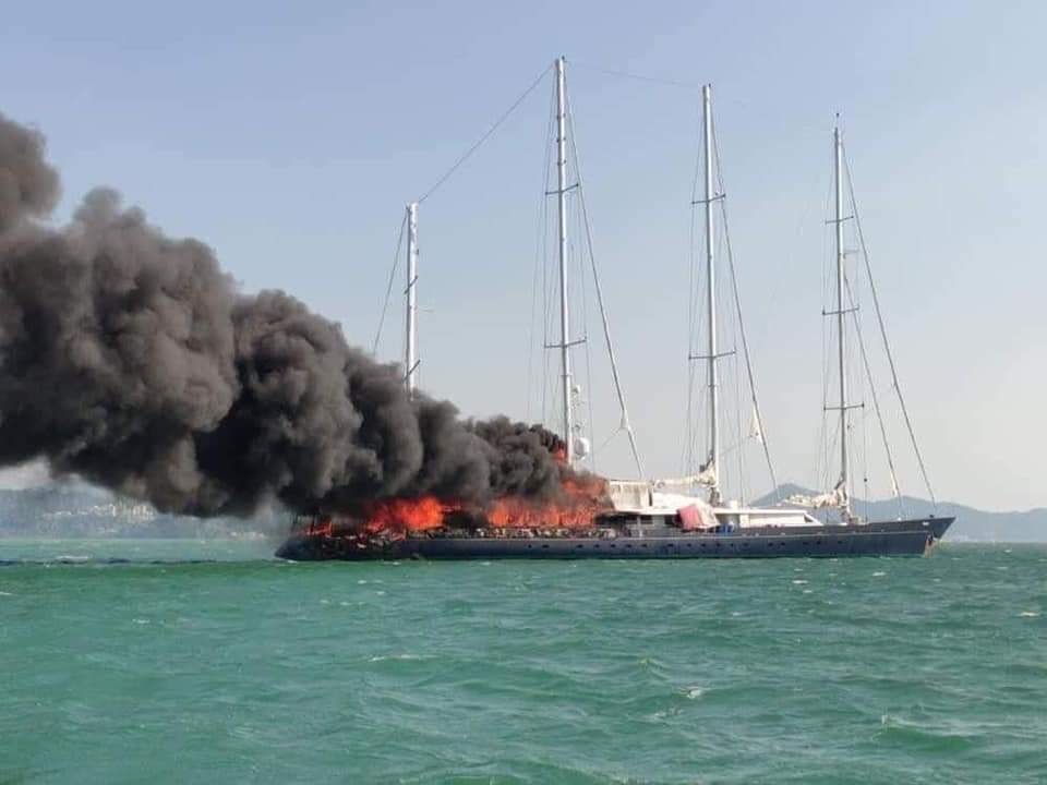 Image for article VIDEO: Enigma on fire in Langkawi